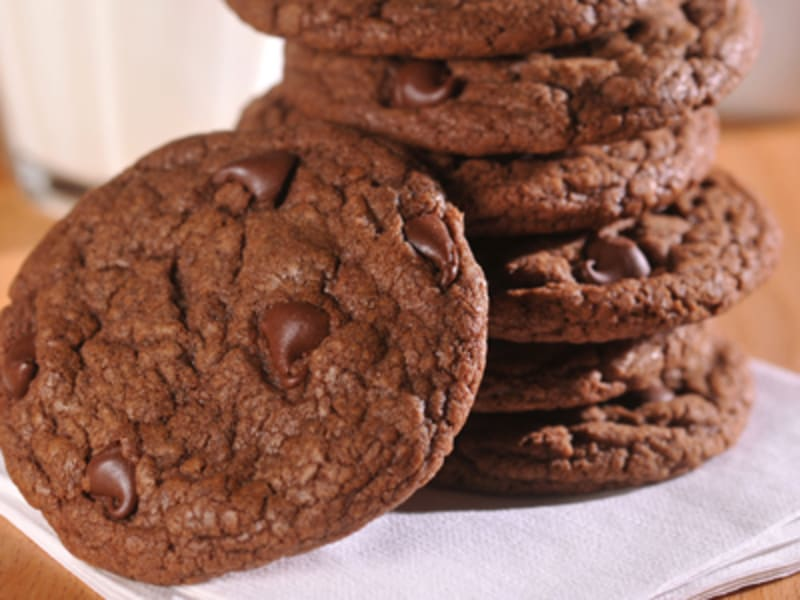 Old fashioned chocolate chip cookies 97