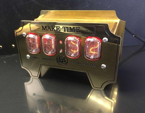 Nixie Tube Clock on tube terminals, tube dimensions, tube fuses, tube assembly,