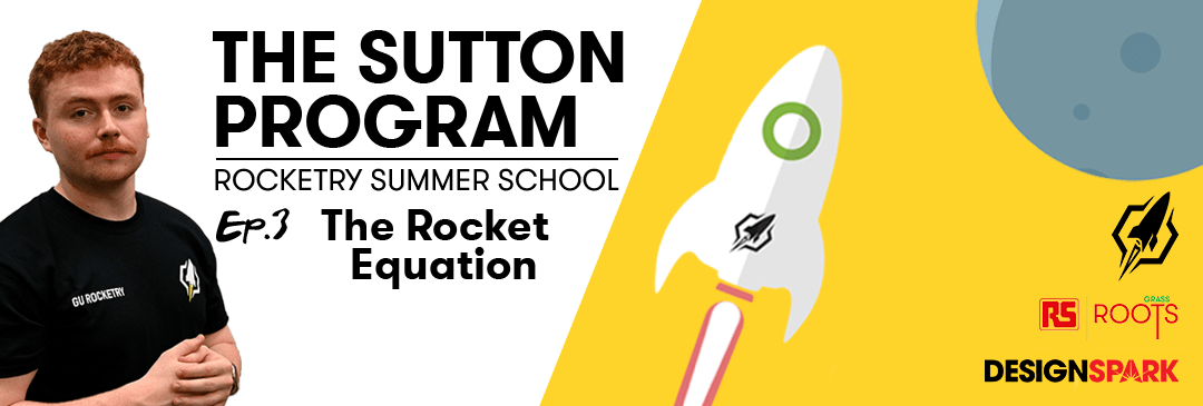 Banner - The Sutton Program - Ep 3 The Rocket Equation