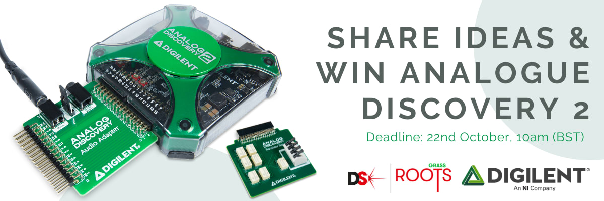 Competition - Share and Win Analogue Discovery 2!