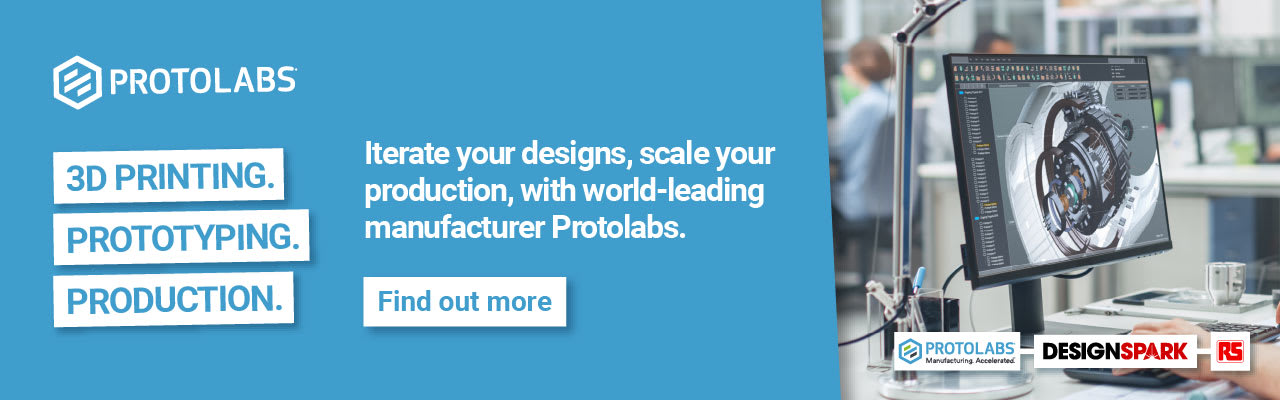 On demand 3d printing from Protolabs