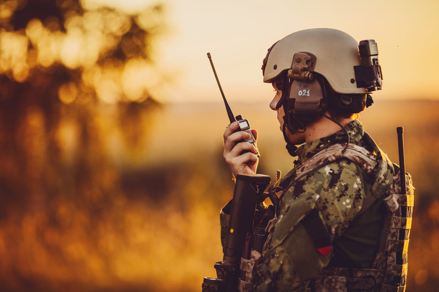Fibre optics are finding applications in all industries including military