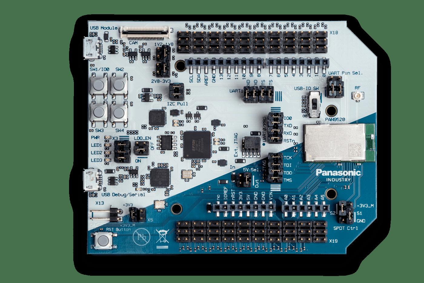 Panasonic Industry's PAN9520 Wi-Fi module