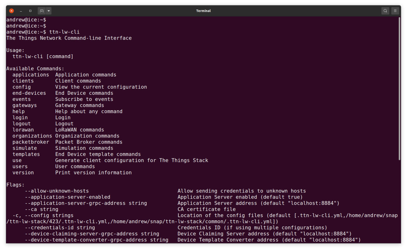 installing the CLI