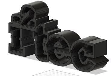 3D Printed Logo Enclosure