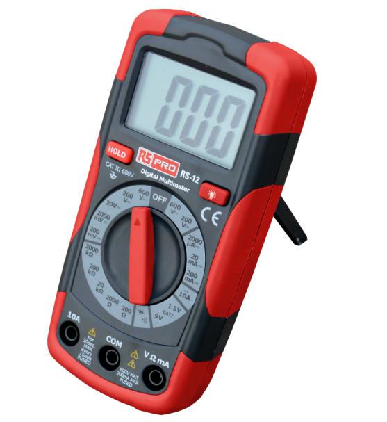 RS Pro RS12 Handheld Digital Multimeter