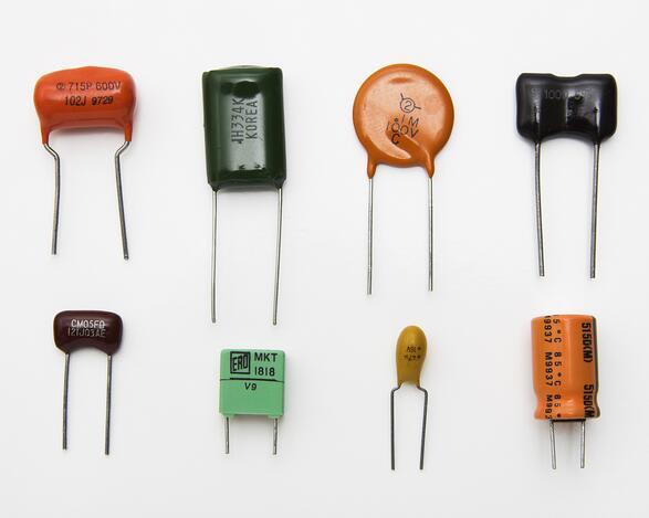 capacitors display