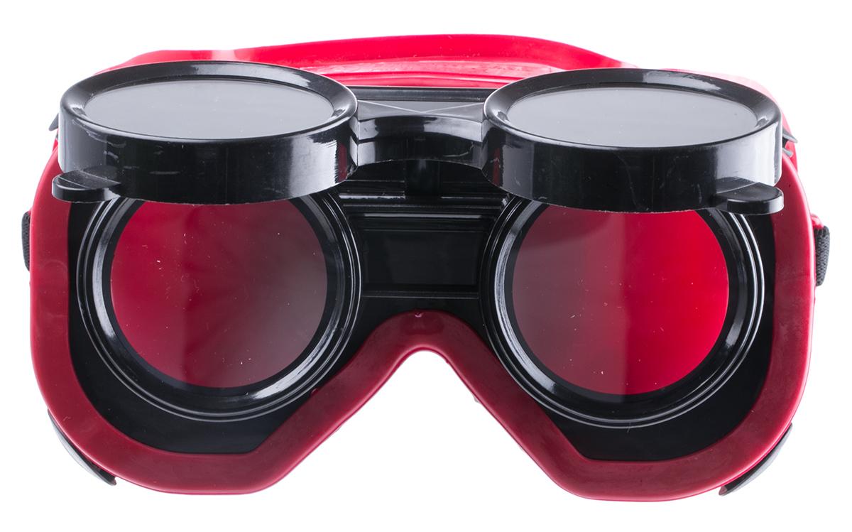 Schweißschutzbrille mit aufklappbarer Linse