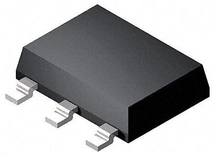 Illustrations eines P-Kanal-MOSFETs