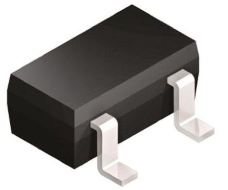 Illustration eines N-Kanal-MOSFETs