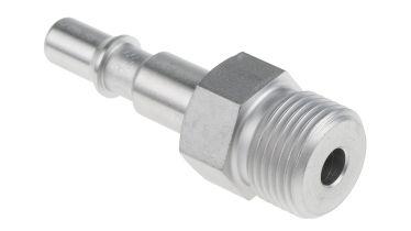 Pneumatik-Steckverbinder aus Edelstahl