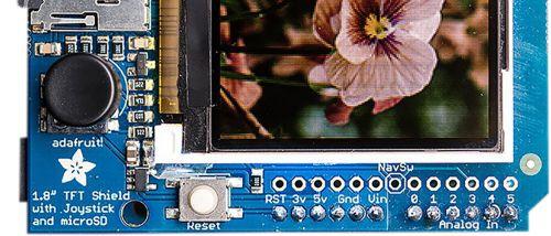 Arduino Display Index-Card