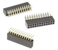Board-To-Board Connector 2.54 mm RoHS Compliant: Yes, 22 Header Through Hole Vertical Pack of 20 WR-PHD Series 61302211121