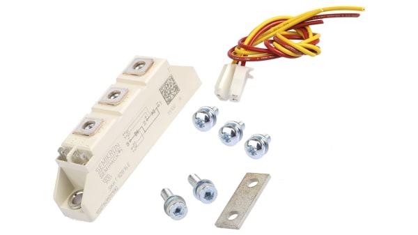 1PCS SKKT92//16E  Encapsulation:MODULE,SEMIPACK1 Thyristor Diode Modules
