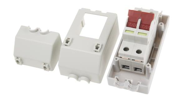 Wylex REC2S 100A 100 Amp 2 Pole Isolator /& Enclosure.