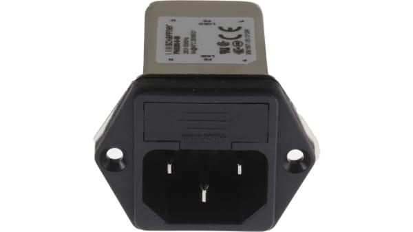 Filtro di linea 10A Collegamento Rapido ingresso IEC I moduli di ingresso di alimentazione 250V