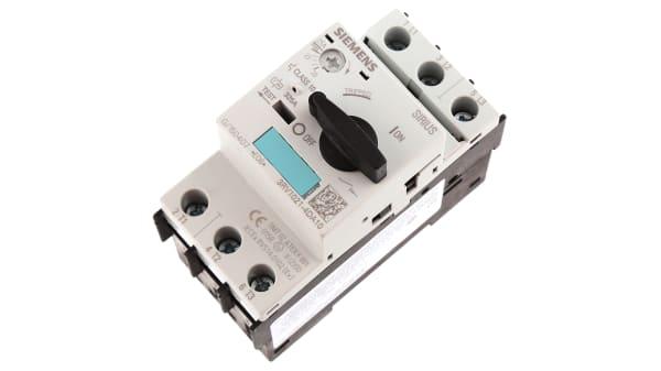 3rv1021 4da10 Siemens Sirius Innovation 690 V Motor Protection Circuit Breaker 3p Channels 20 25 A 50 Ka Rs Components