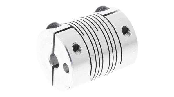 accouplement flexible alu élastomère D30 arbre 10//16mm moteur CNC EXM-AP31016