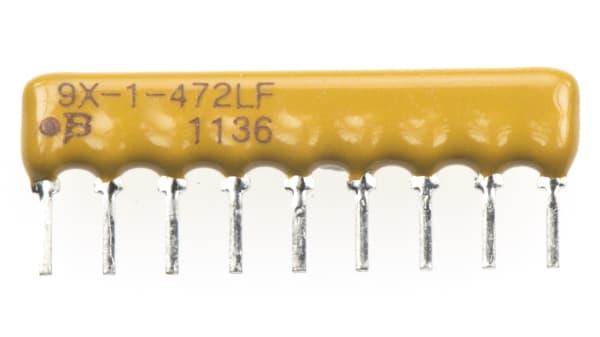 SIP BOURNS 4609X-101-223LF RES N//W 100 pieces BUS 22KOHM 2/% 8 RES