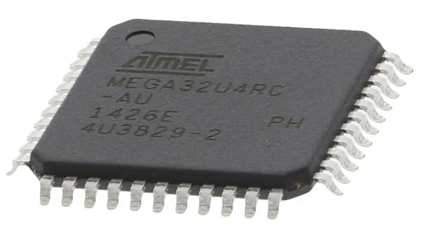 ATMEL   ATMEGA32U4-AU   MCU TQFP-44 8BIT MEGAAVR 16MHZ