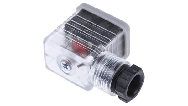 RS Pro 2P+E DIN 43650 B Solenoid Valve Connector MER-209//S Cable Mount Female