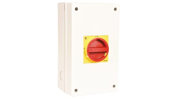 IP66 3 Pole Non Fused Isolator Switch IP67 32 A 11 kW
