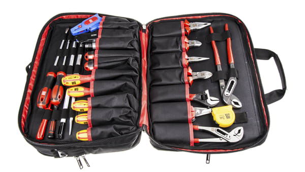 RS PRO 32-Piece Electricians Tool Kit img