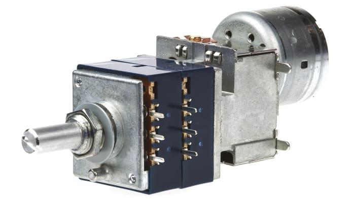 Potentiometer mit logarithmischem Widerstandselement