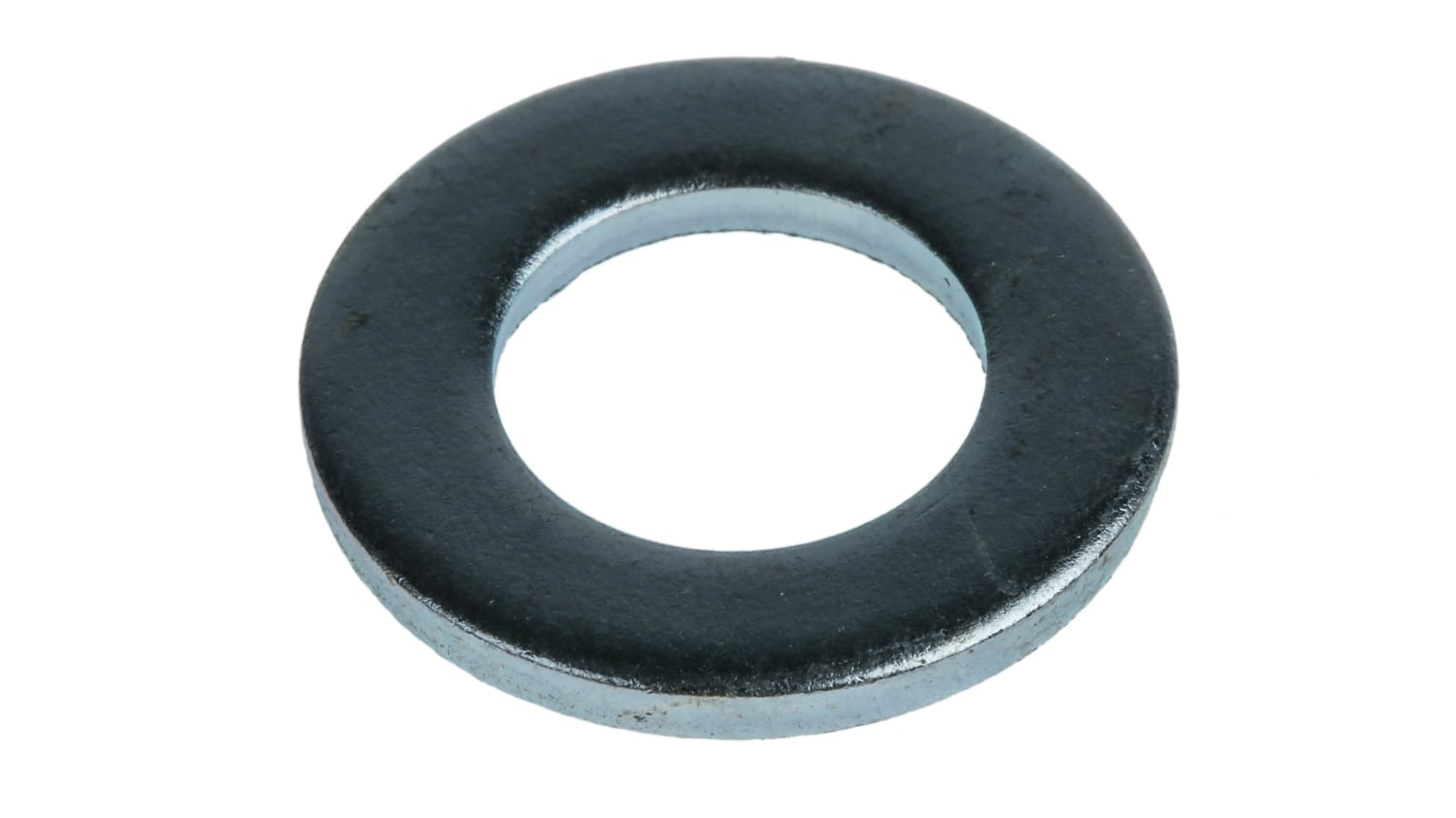 Bright Zinc Plated Steel Plain Washer 2 5mm Thickness M12 Rs Components