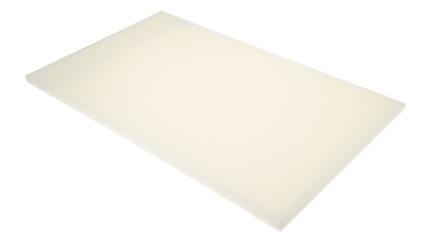 White Plastic Sheet 500mm X 300mm X 12mm Rs Components