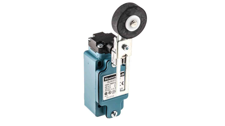 GLAC01A2W   Interruttore di fine corsa Honeywell serie GLA, Leva rotante,  NA/NC, 600V, 10 A, IP67   RS Components