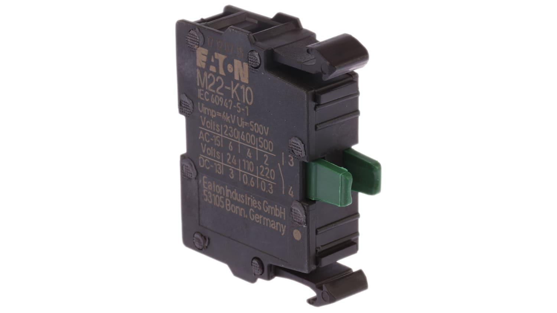 Eaton Moeller M22-K10 216376 Contact Bloc No Rmq-Titan Avant Fixation 001793