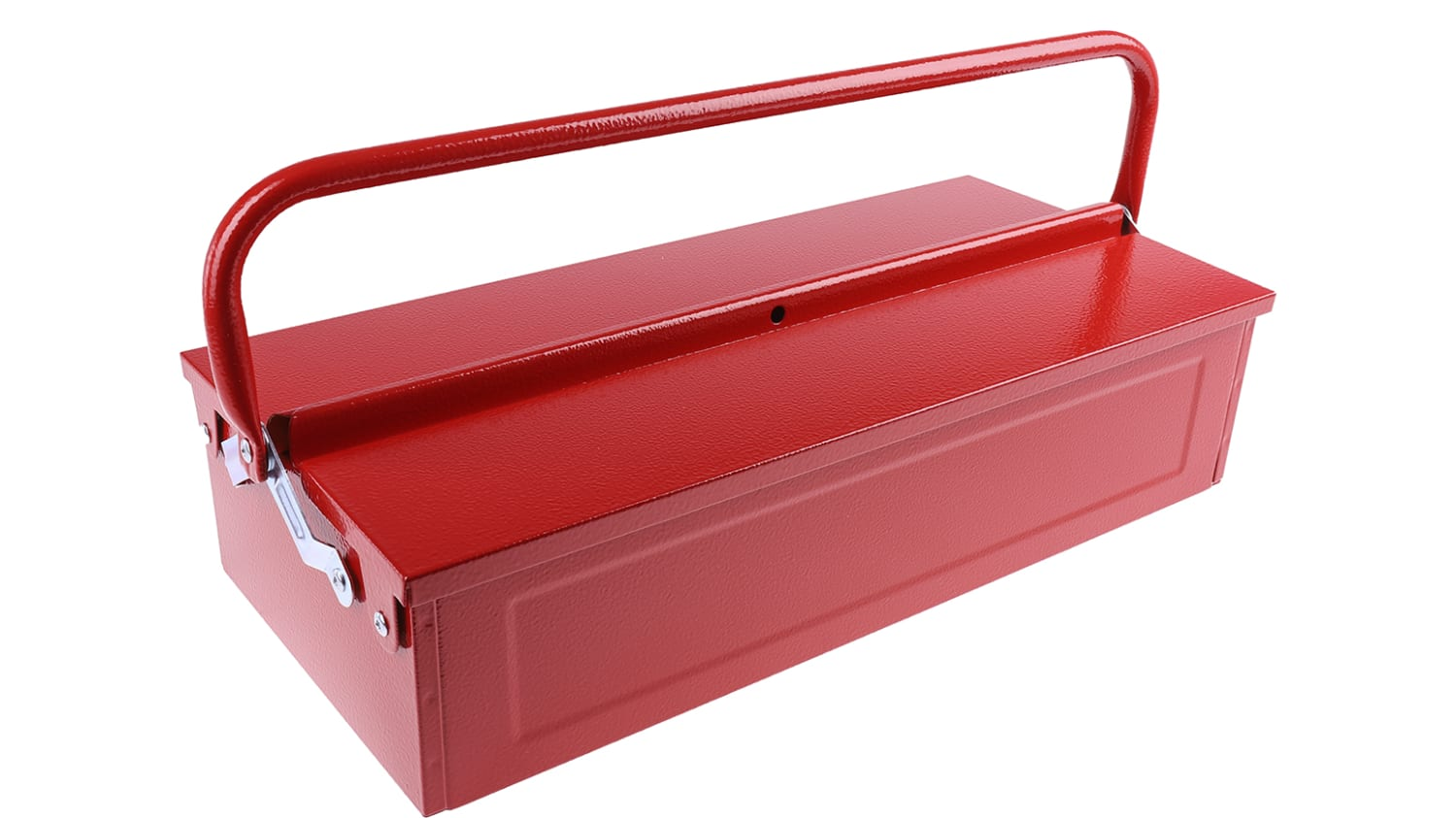 Rs Pro Barn Style Metal Tool Box 450 X 215 X 130mm Rs Components