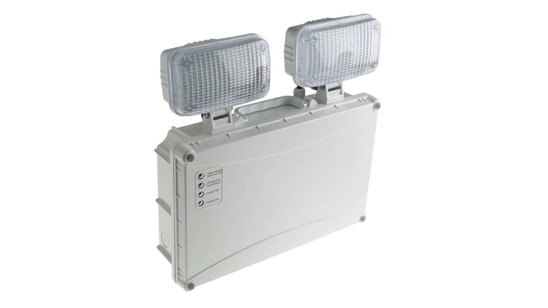 twin spot emergency light