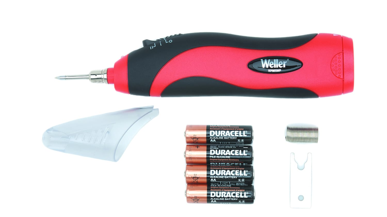 Sans fil 8 W alimenté par batterie électrique Fer à souder avec capuchon de sécurité /& Solder