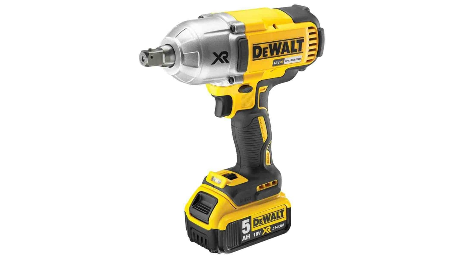 DCF899P2-GB   DeWALT 950Nm 1/2 in 18V Cordless Impact Wrench, UK Plug   RS Components