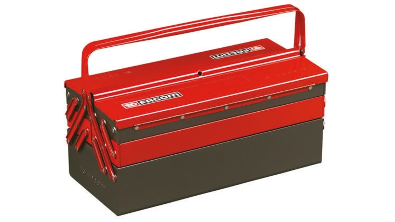 Bt 13gpb Facom Metal Tool Box 560 X 220 X 238mm Rs Components