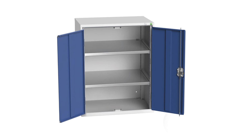 16926159 11 Bott 2 Door Steel Floor Standing Storage Cabinet 1000 X 800 X 550mm Rs Components