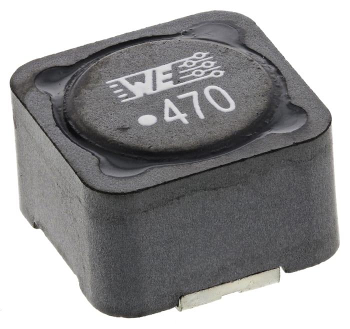 8.5 x8.5 mm Wurth Elektronik 744741472-Inductor Power 5/% 4700uh