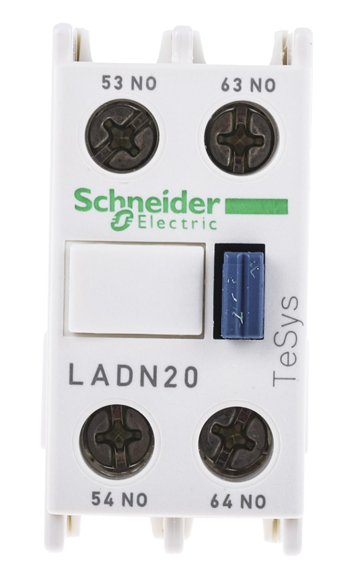 Schneider Electric Auxiliary Contact Block LADN20