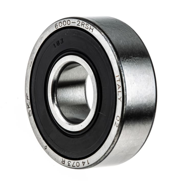 26 mm Rodamiento de ranura profunda 8 mm 10 piezas 6000-2RS Rodamientos de bolas de ranura profunda sellados de goma 10 mm