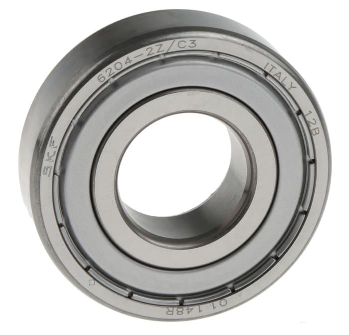 acero para rodamientos Rodamiento de bolas radial de ranura profunda SKF 6 ID