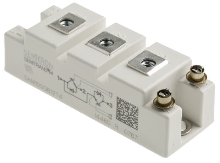 1Pc nuevo módulo SKM100GAL12T4 FR Semikron