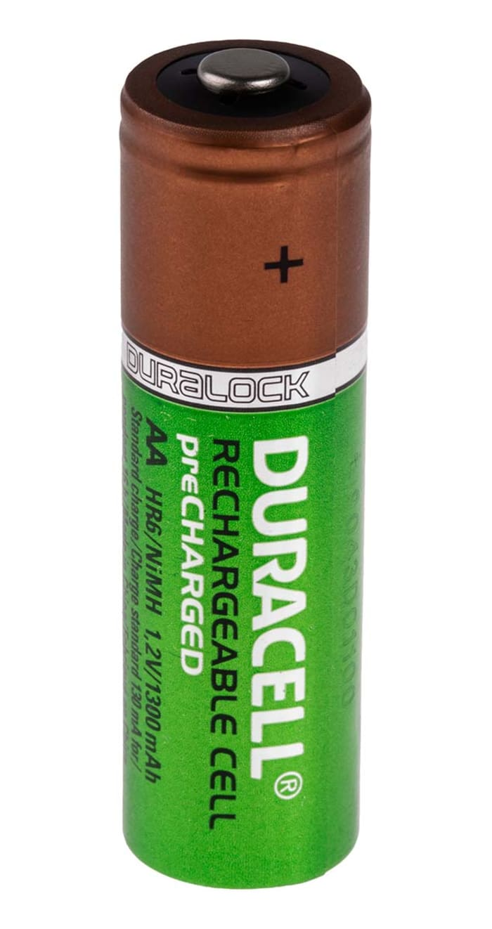 Hr6 P4 Rs Duracell Duracell Duracell Recharge Plus Aa Nimh Rechargeable Aa Batteries 1 3ah 1 2v 769 8755 Rs Components