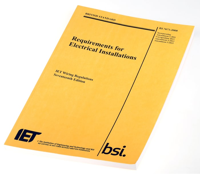 Iet Wiring Regulations 17th Edition By, Iee 17th Edition Wiring Regulations