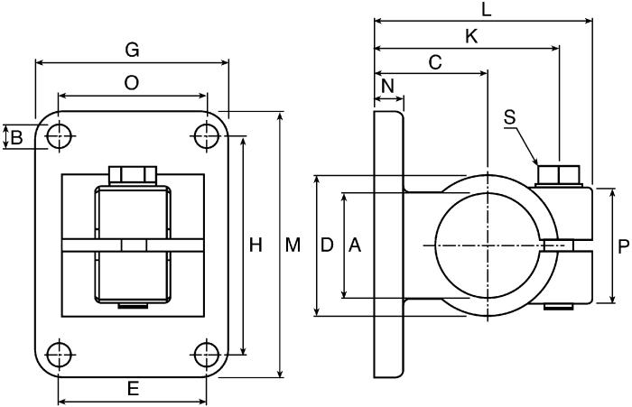 Pared roseta Brida de pared Di/ámetro 120/mm 12/cm RM Blanco Brida Tubo de aluminio Flex Potencia Flex termoflex Tubo Alu Flex metal Brida resistente al calor
