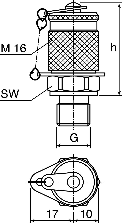 Stauff Messkupplungen SMK-20-M10x1-PB Hydraulikkupplung Parker SMK20 je 5 Stk