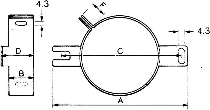 76mm V11 Kemet Clamp Capacitor