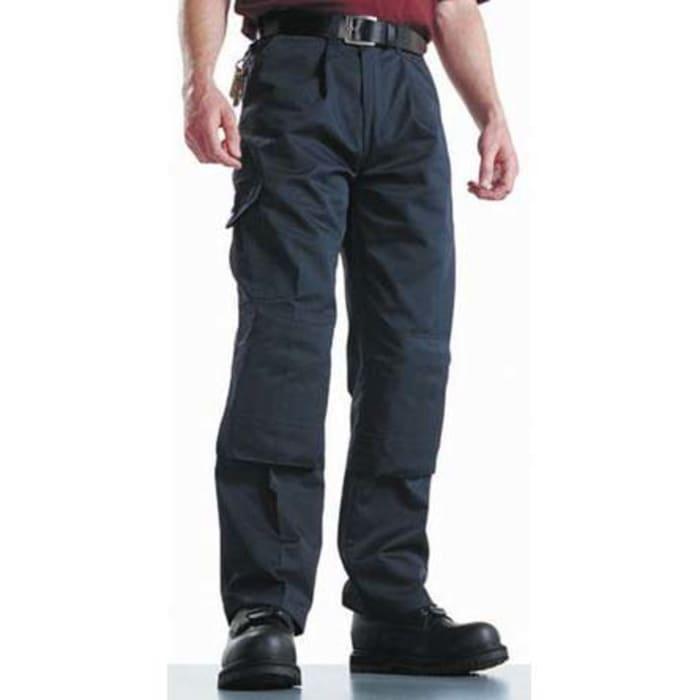 Wd884 Nvy 34t Dickies Pantalones De Trabajo Para Hombre Pierna 34plg Azul Marino Algodon Poliester Super Work 34plg 277 415 Rs Components