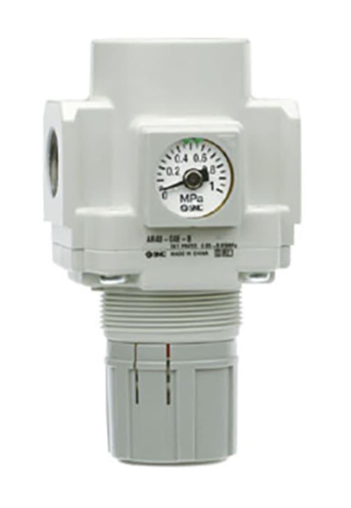 """SMC 1//4/"""" BSP Miniatura Regulador de Presión de Aire AR20-F02B-B"""